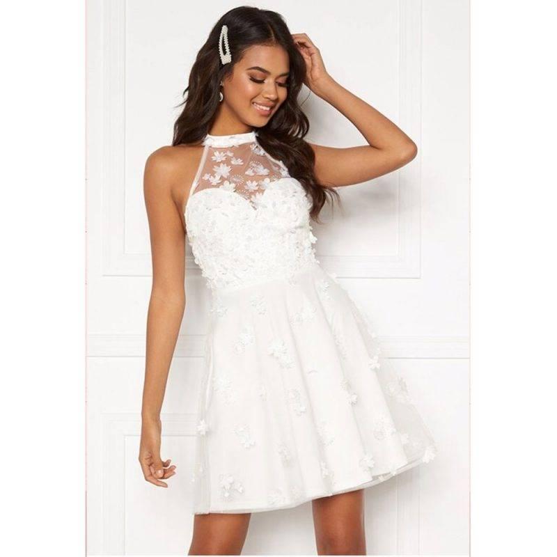 Moments of New York bröllopsklänning skater dress Bianca