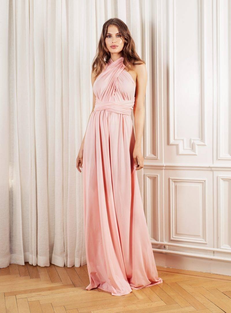 Rosa balklänning by Malina