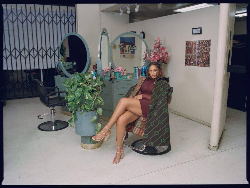 Beyoncé, kappa från Gucci