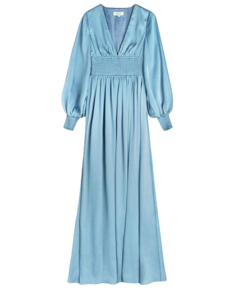Blå maxiklänning från By Malina