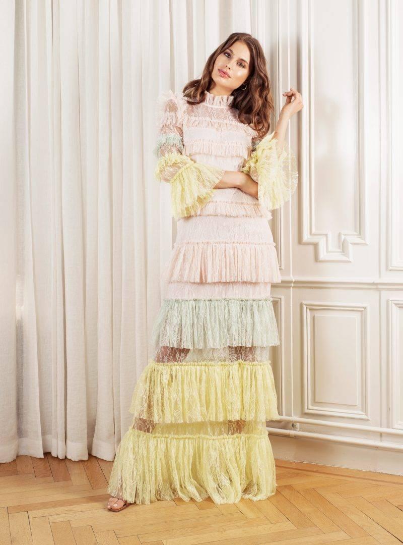 Carmine maxi dress by malina