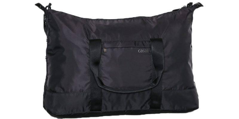 Träningsväska från Casall i svart färg