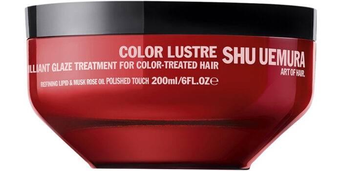 Inpackning för färgat hår