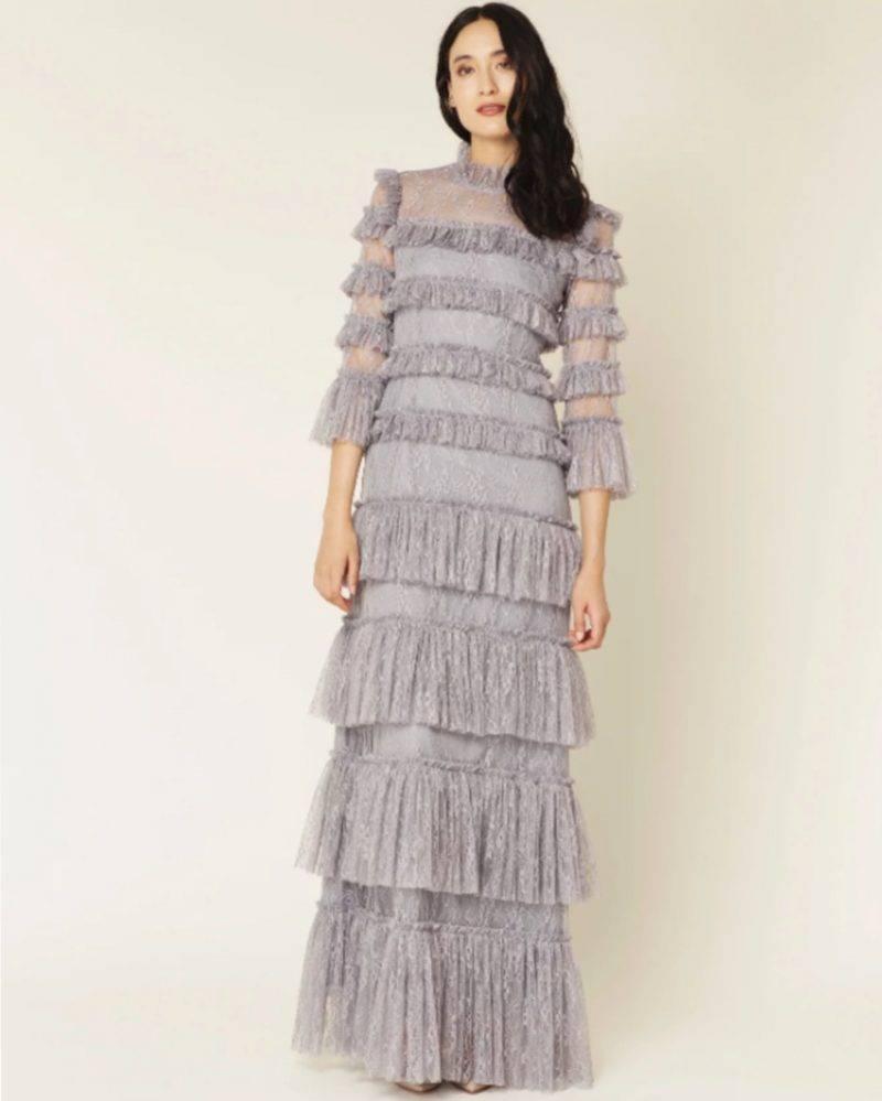 Grå balklänning från By Malina