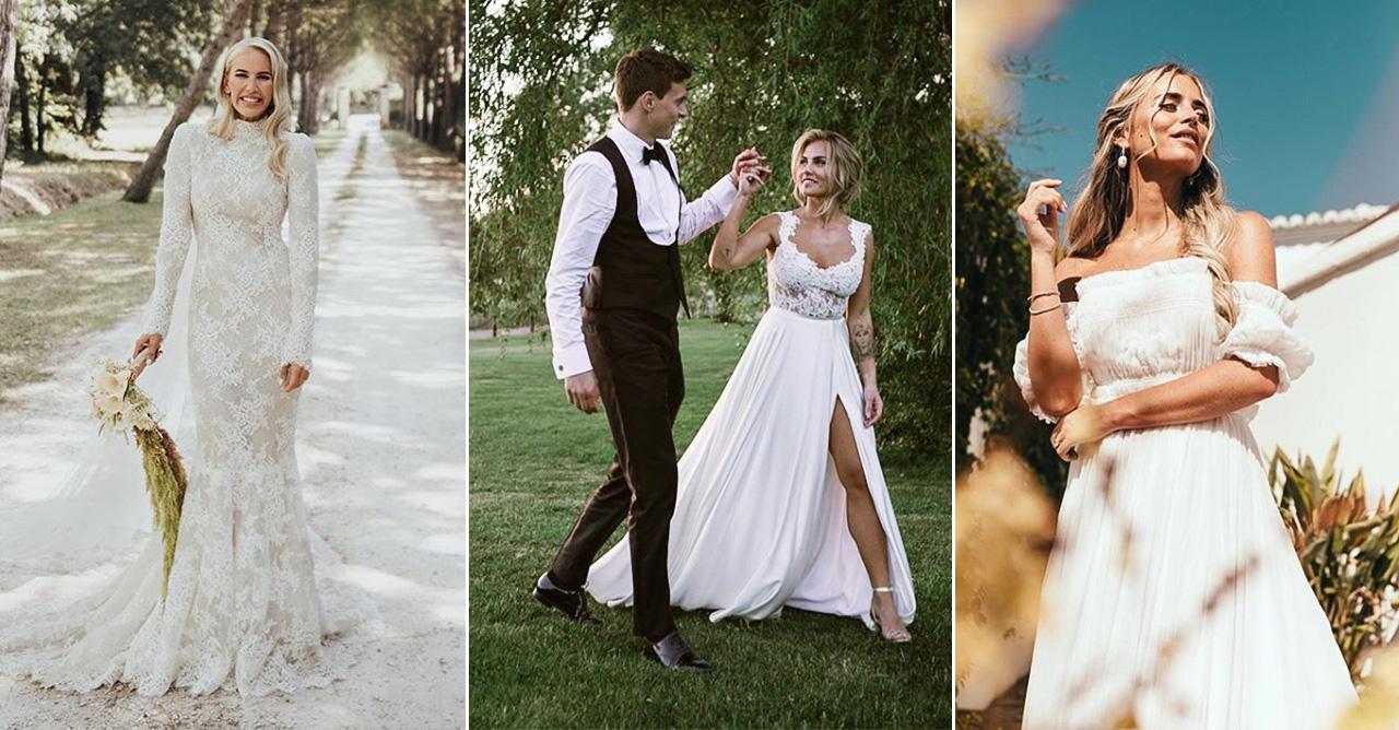 Kändisarnas vackraste brudklänningar – så mycket inspiration!