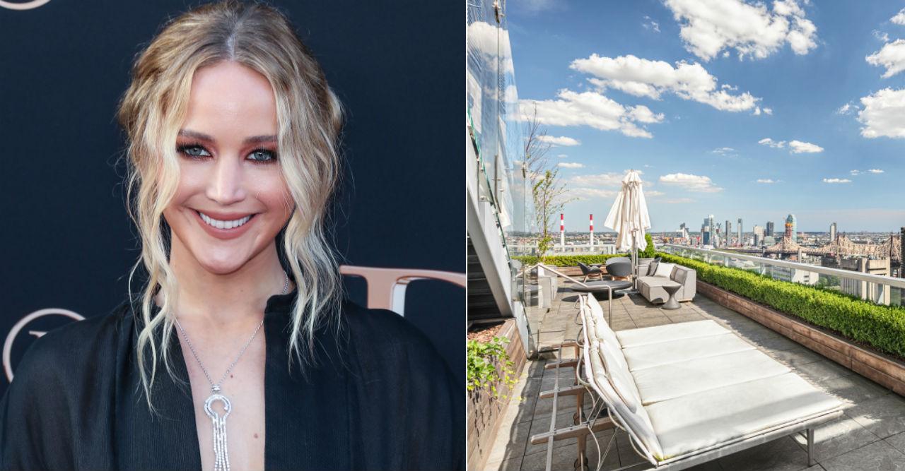 Jennifer Lawrence säljer lägenheten i New York.