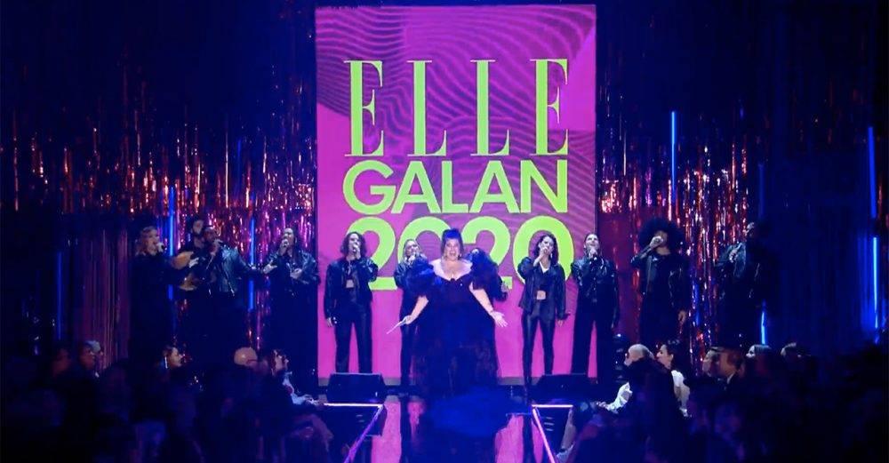 Kakan sjunger på ELLE-galan 2020