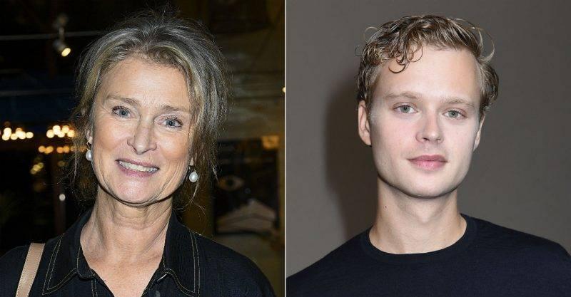 Lena Endre och Edvin Endre.