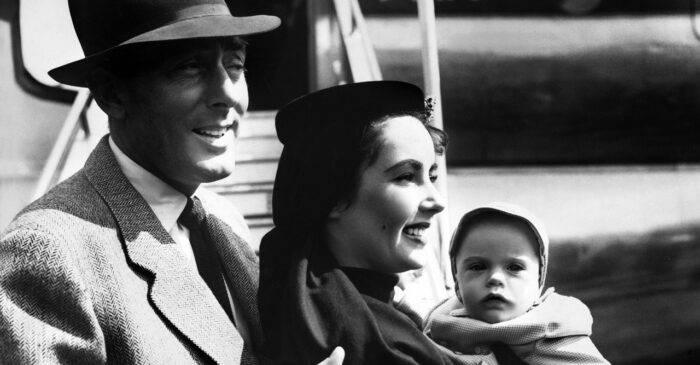 Liz taylor och man och barn
