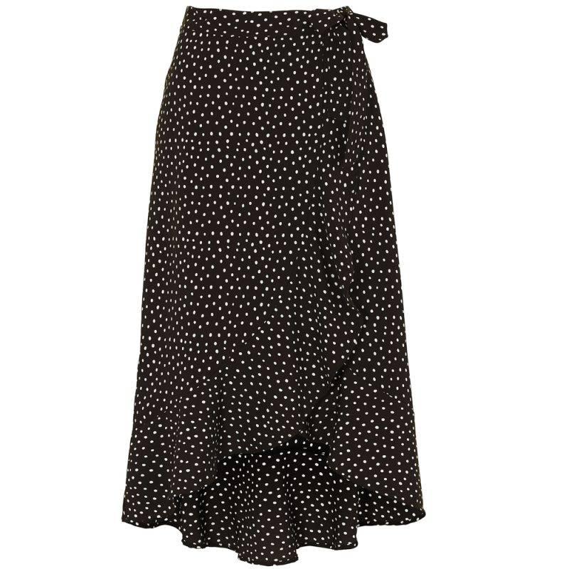 Prickig kjol i omlott från bubbleroom