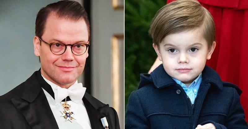 Prins Daniel och prins Oscar är lika som bär.