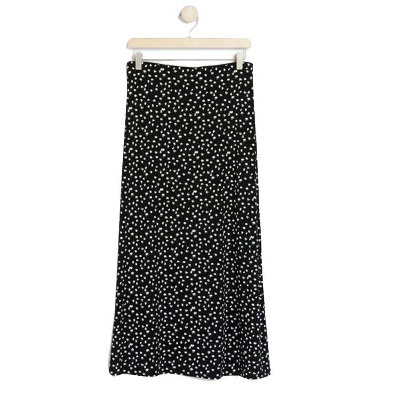 Prickig rak kjol från Lindex