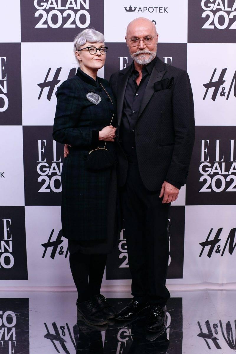 Bea Szenfeld på röda mattan på elle-galan 2020