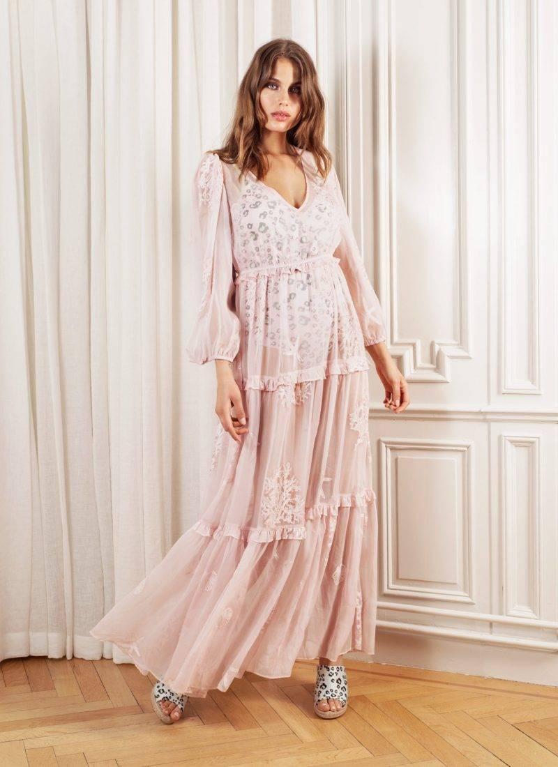 Rosa maxiklänning by malina