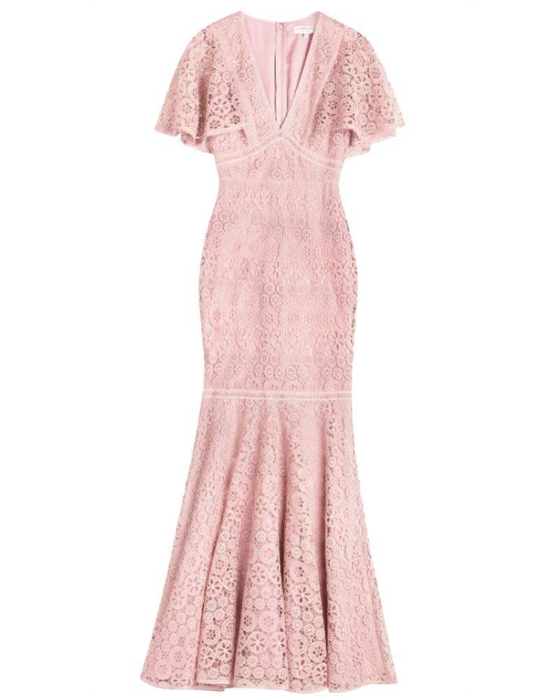 Rosa klänning från By Malina