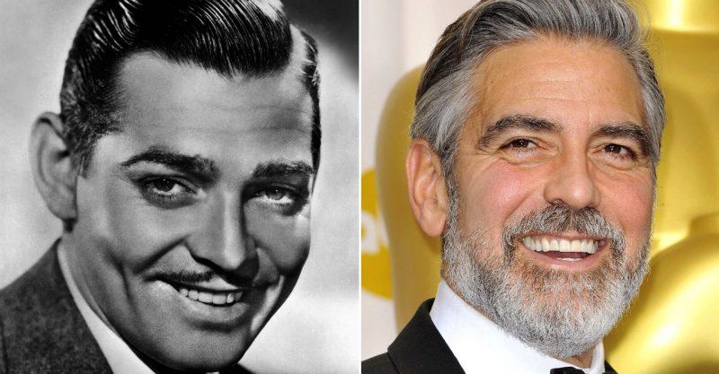 Clark Gable och George Clooney.