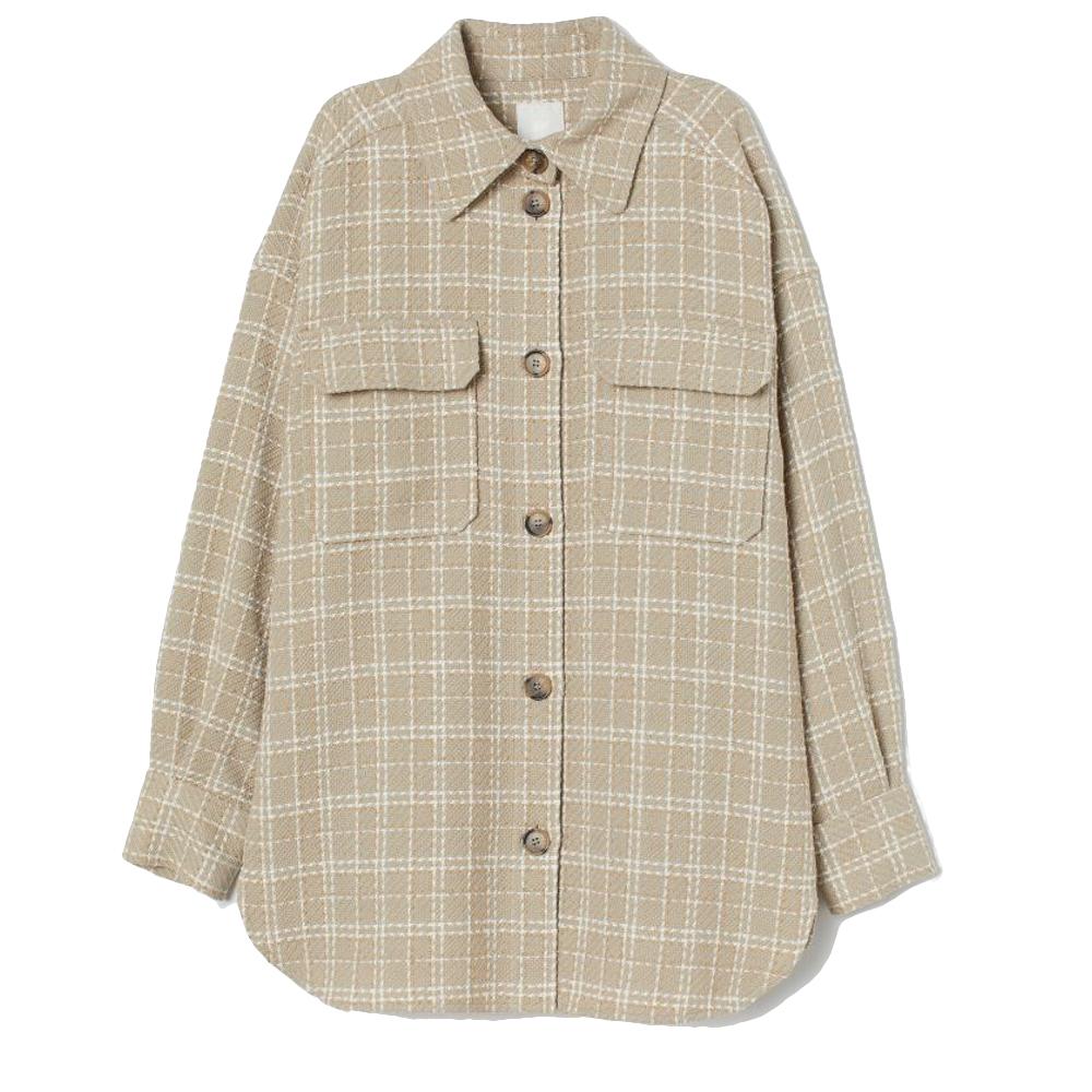 Skjortjacka, H&M