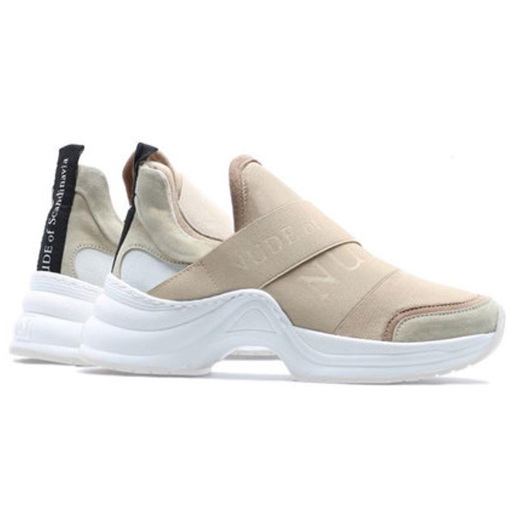 Sneakers, Nude