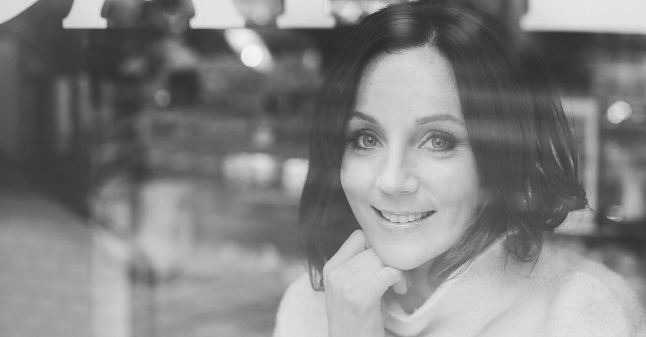 Frida Ramstedt intervju bild svart vit