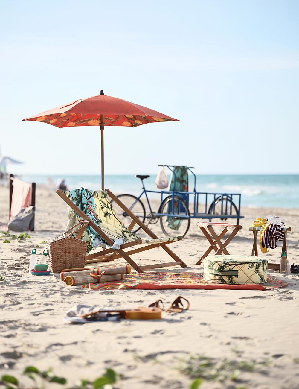 Möbler och detaljer till stranden från Ikea 2020