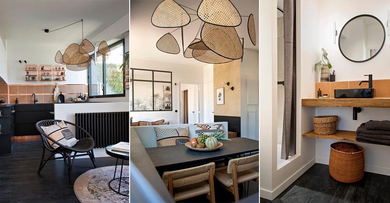 Inredningsarkitektens lägenhet i Paris