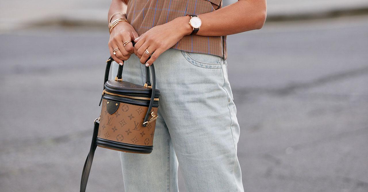 Bucketväska, Louis Vuitton