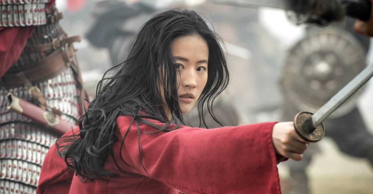 Yifei Liu i Mulan.