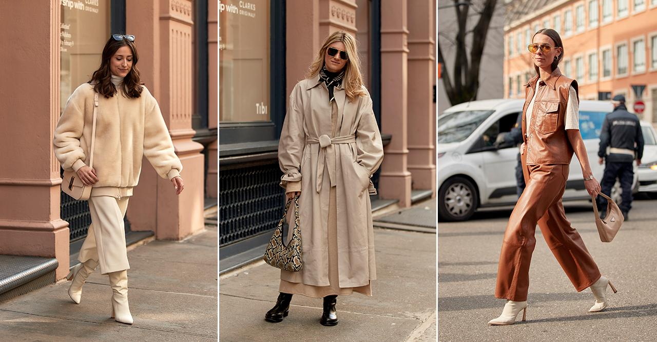 Shoppingtips i läder- och läderimitation i ljusa färger 2020