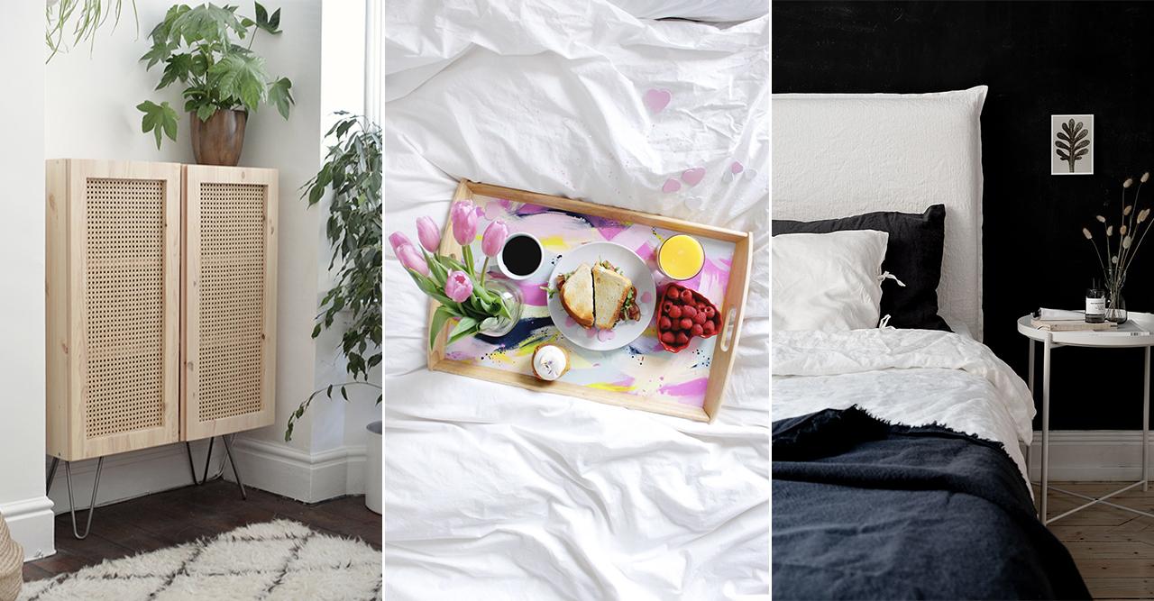 Ikeahacks att göra hemma våren 2020