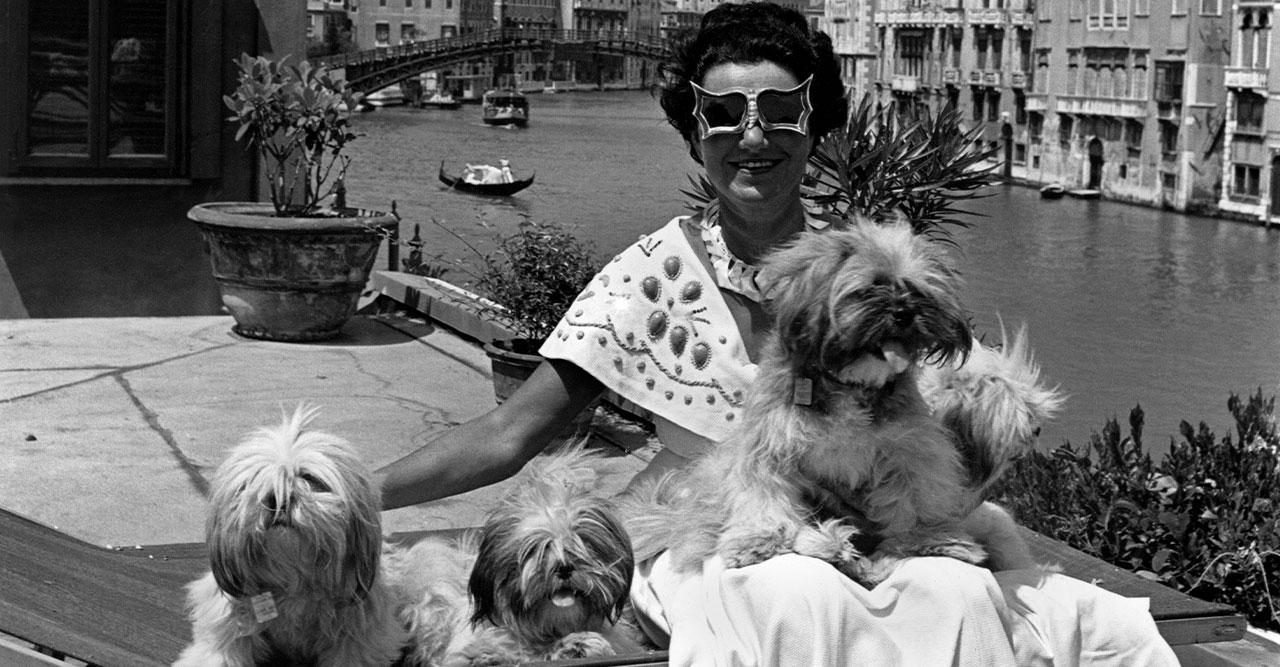 Peggy Guggenheim inspirerar modet