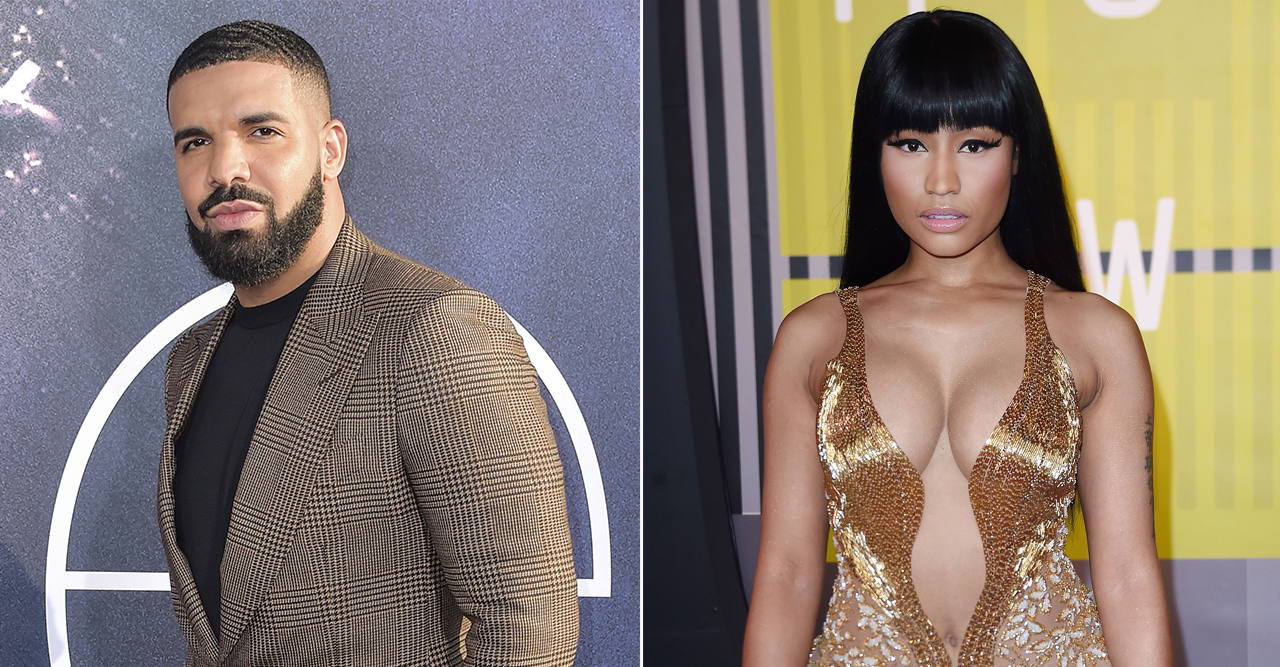 Drake och Nicki Minaj