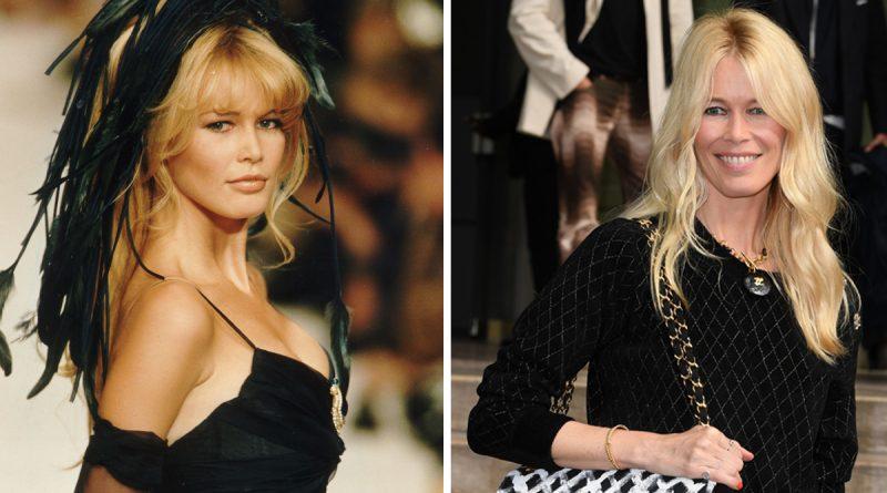 Claudia Schiffer då och nu