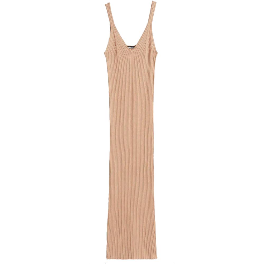 Stickad klänning, Gina tricot