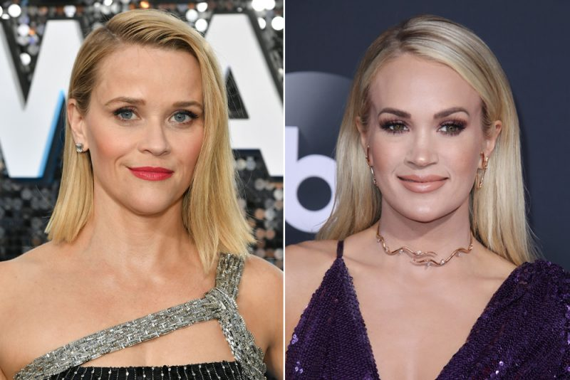 Carrie Underwood och Reese Witherspoon