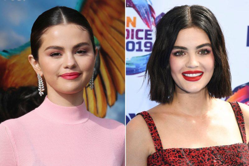 Selena Gomez och Lucy Hale