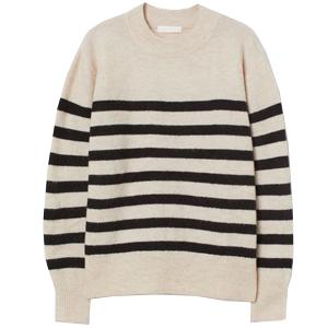 Randig tröja, H&M