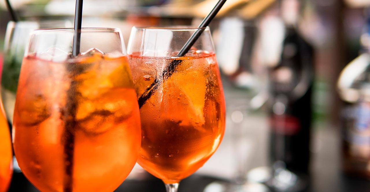 Glas till Aperol Spritz