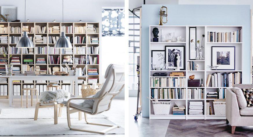 Styla Ikeas bokhylla Billy själv – 15 trendiga tips
