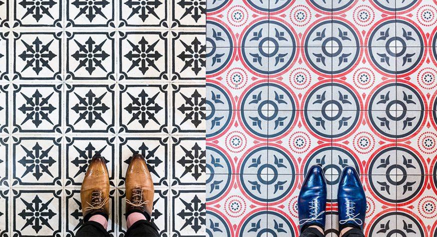 17 vackra kakelgolv att inspireras av i Barcelona