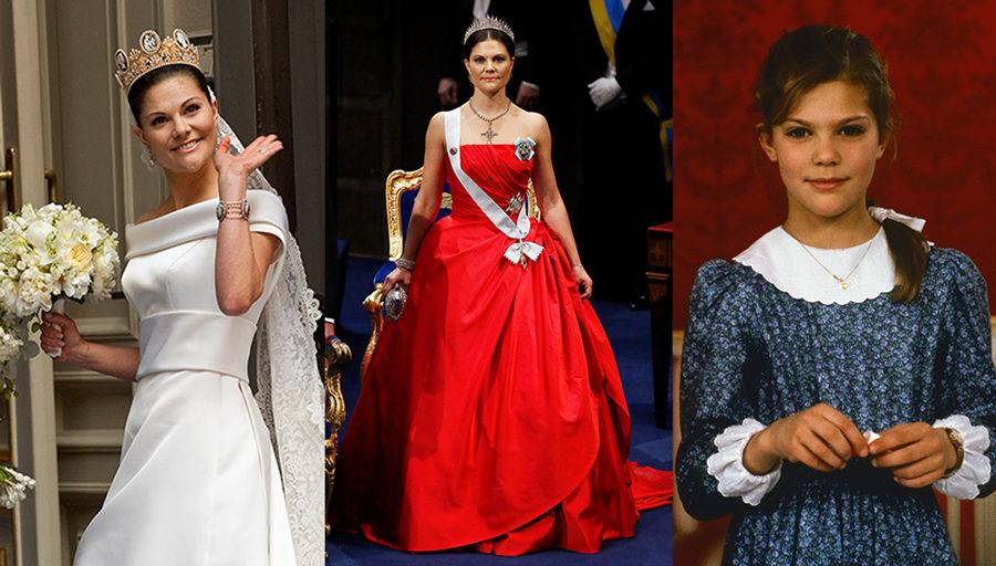 Från bal till bröllop  Kronprinsessan Victorias 87 vackraste klänningar  genom tiderna b2aa65778e5f5