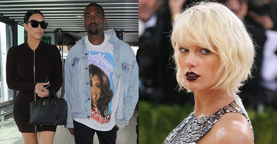 Kanye slapper hemligt samtal med taylor swift