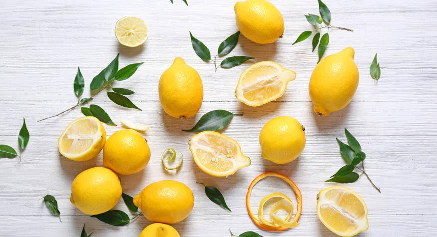 varför är citronvatten bra