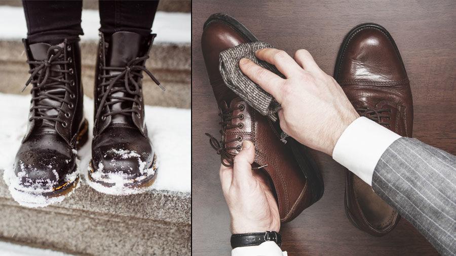 bb6770051d0 8 tips på hur du tar hand om dina läderskor i vinter