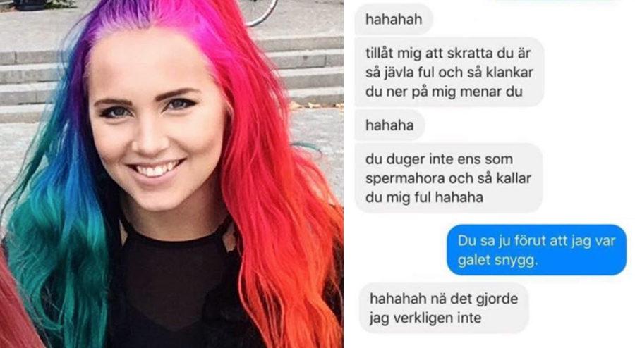 Linnéa gör succé på Instagram efter geniala svaret till näthatarna