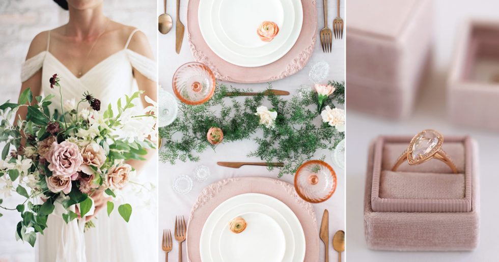 e64bb6e67306 Trendfärgen som tar över bröllopen i sommar – 7 vackra detaljer