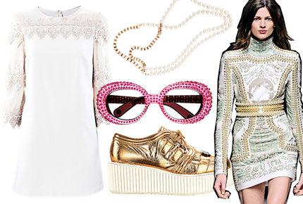 Shopping: Pasteller, pärlor och guld
