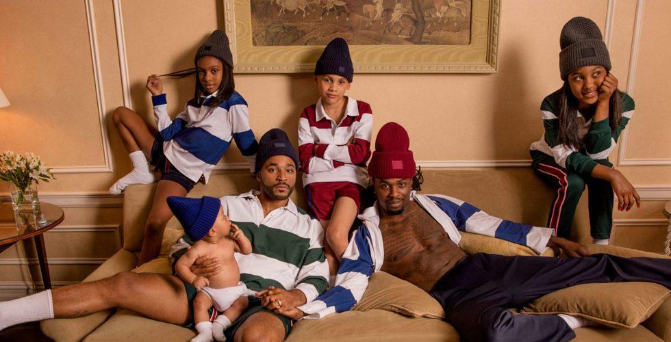 Instagrams hetaste familj frontar Acne Studios nya kampanj