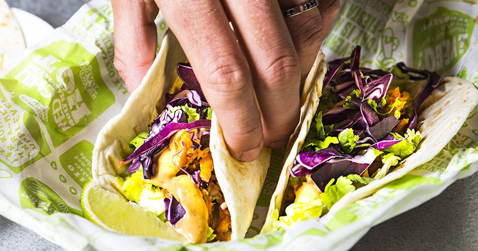 TacoBar lanserar fler vegetariska och veganska alternativ på menyn
