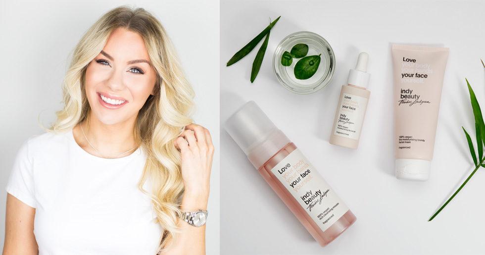 Nu Släpper Therése Lindgren Veganska Skönhetsmärket Indy Beauty Elle