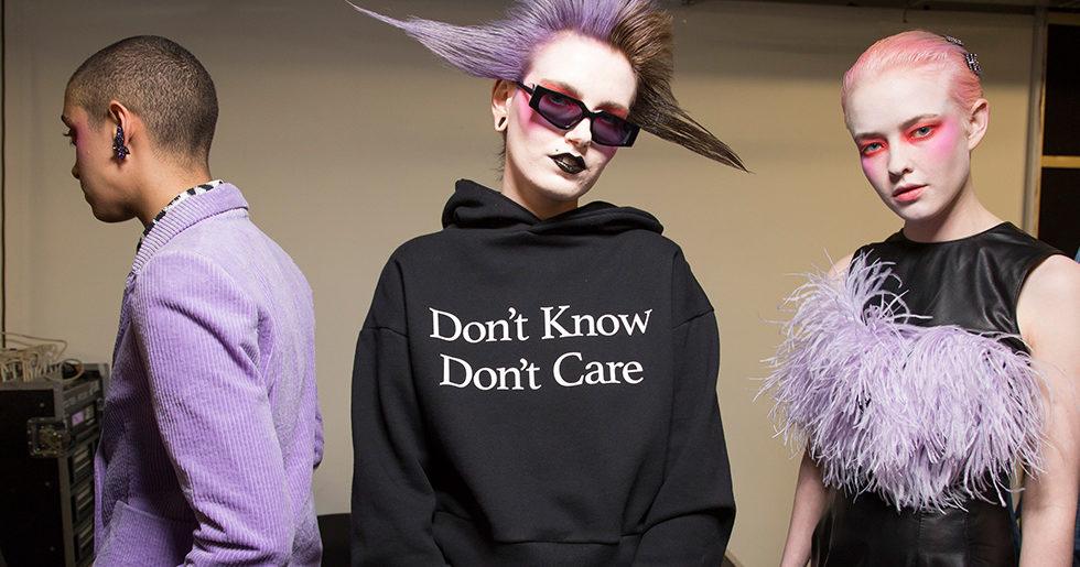 Tröjor med tryck – hetaste trenden från London Fashion Week